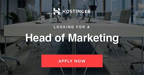 Head of Marketing