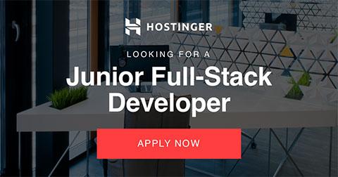 Junior Full-Stack Developer