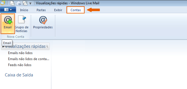Como configurar seu e-mail no Outlook / Thunderbird / Windows LiveMail? 8