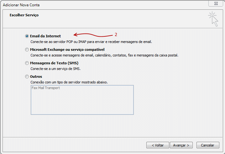Como configurar seu e-mail no Outlook / Thunderbird / Windows LiveMail? 3