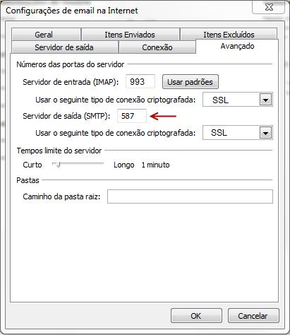 Como configurar seu e-mail no Outlook / Thunderbird / Windows LiveMail? 6