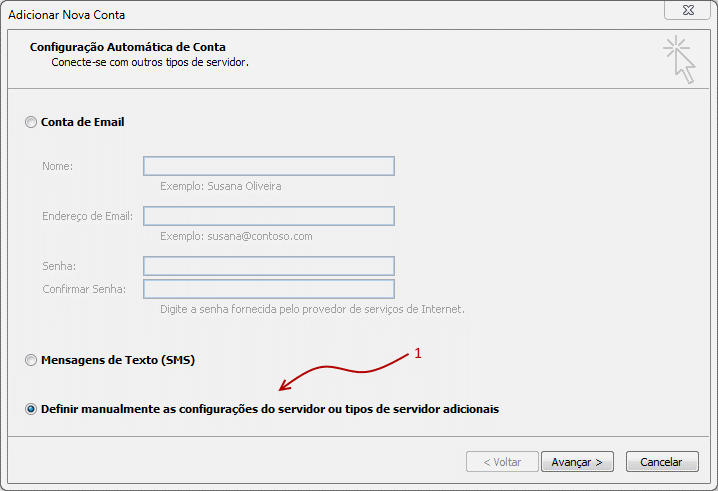Como configurar seu e-mail no Outlook / Thunderbird / Windows LiveMail? 2